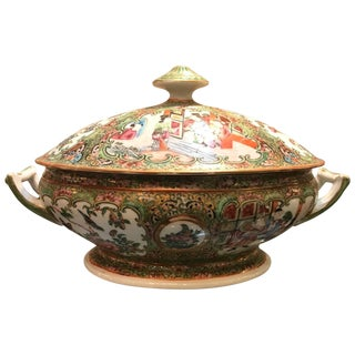 Large Mid-19th Century Chinese Export Tureen