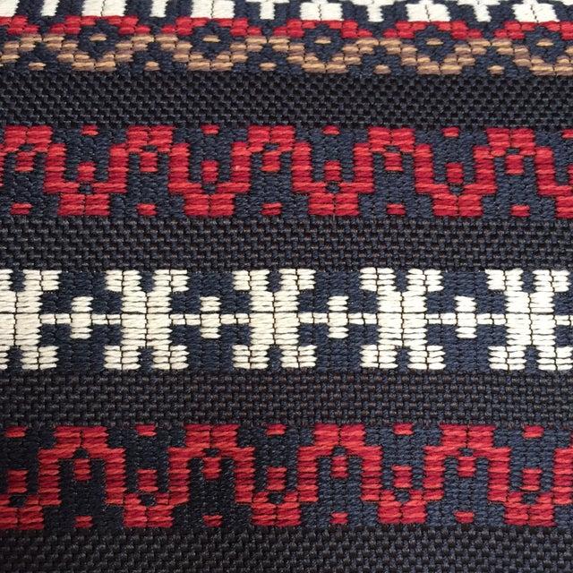 Woven Railroaded Stripe Fabric - 2.75 Yards - Image 3 of 6