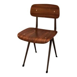 Vintage Mid-Century Brown Plywood Chair