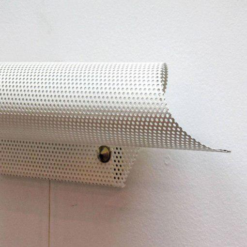 French Perforated Wall Light by Lunel For Sale In Los Angeles - Image 6 of 10