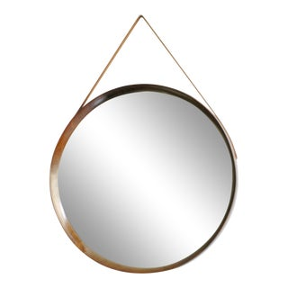 Rosewood Wall Mirror by Uno & Östen Kristiansson for Luxus Sweden