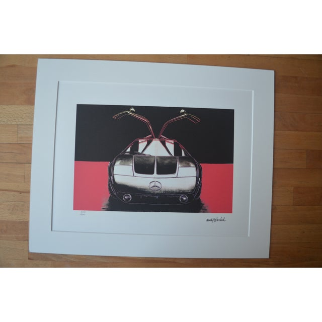 Andy Warhol Mercedes Benz Print - Image 2 of 5