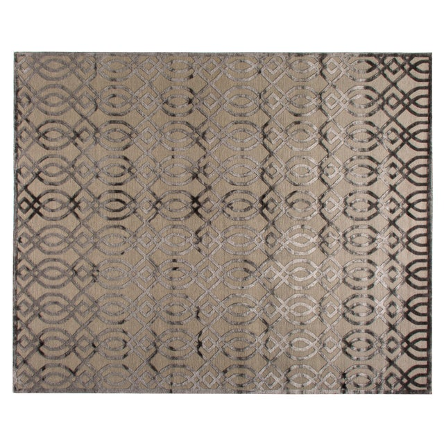 STARK Contemporary Ridgemore Oak Silk Rug To care for your rug, it's best to have your rug cleaned by professionals once...