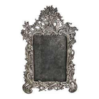 Antique Metal Picture Frame For Sale