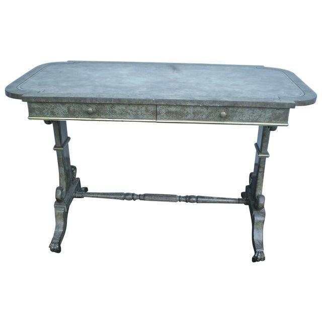 Refinished 1940s Vintage Desk Table - Image 1 of 4