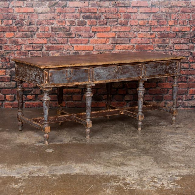 19th Century Country Work Table For Sale - Image 9 of 9