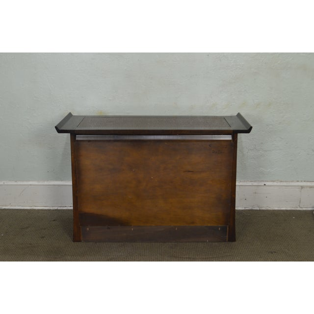 Asian Bernhardt Flair Division Asian Inspired Console Server Cabinet For Sale - Image 3 of 13