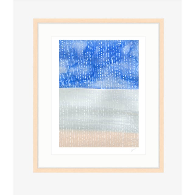 """""""Shorelines IV"""" Watercolor Giclee Print - Image 4 of 5"""