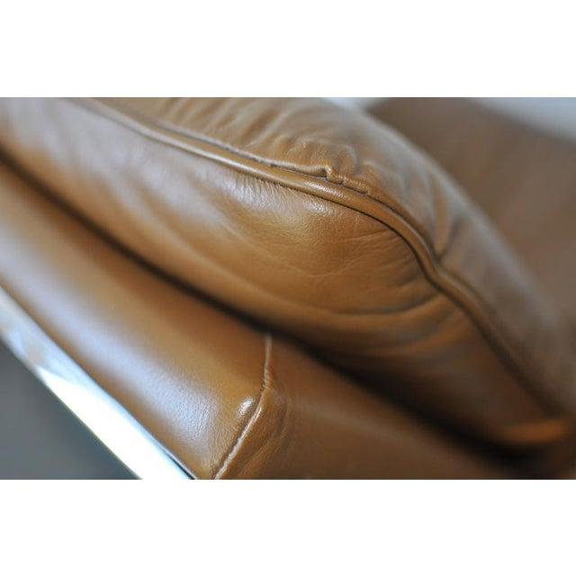 Gardner Leaver Gardner Leaver for Steelcase Leather Lounge Chair For Sale - Image 4 of 7