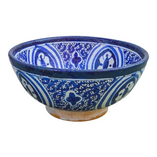 Antique Moorish-Patterned Bowl For Sale