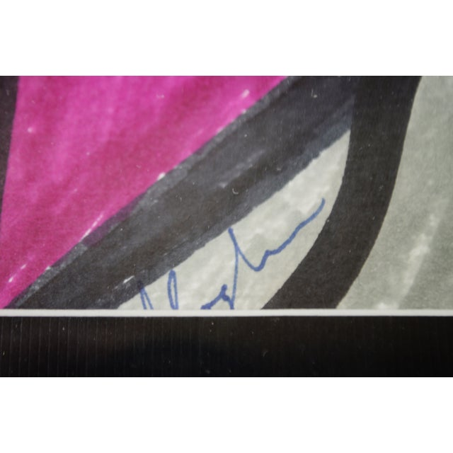 Abstract Pat Gallagher Signed Original Artwork For Sale - Image 4 of 9