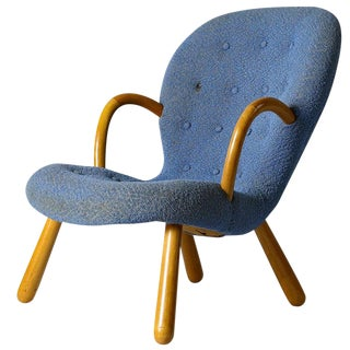"Philip Arctander ""Clam"" Chair For Sale"