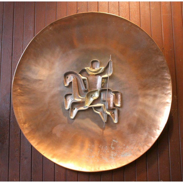 French Copper Plaque For Sale - Image 4 of 19