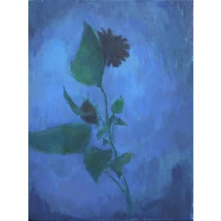 Michelle Farro Night Flowers Original Oil Painting