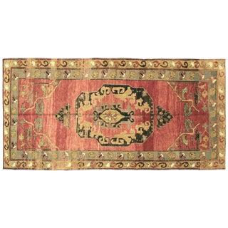 "Nalbandian - 1960s Turkish Oushak Carpet - 5'4"" X 10'11"" For Sale"