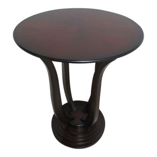 Bombay Company Cherry Bird Cage End Table