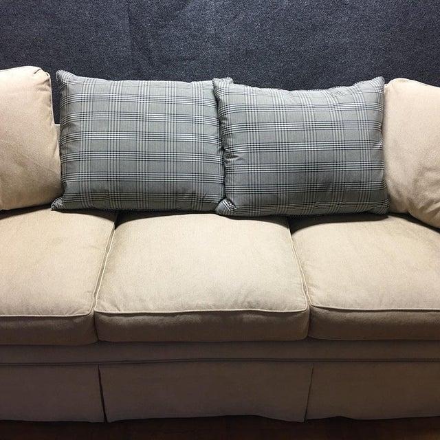 Kreiss Tan Giverny Sofa & Ottoman - Image 7 of 10