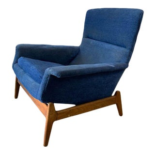 Mid-Century Modern Recliner by Folke Ohlsson for Dux Sweden For Sale