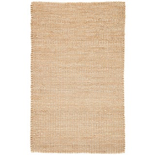 Jaipur Living Blair Natural Solid Beige Area Rug - 5' X 8' For Sale