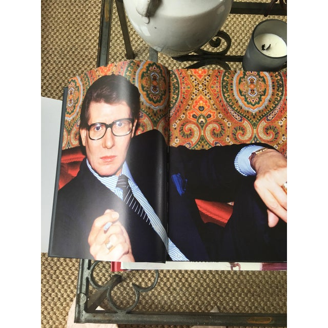 Illustration Yves St Laurent Photographs Book, Foreword by Pierre Berge For Sale - Image 3 of 9