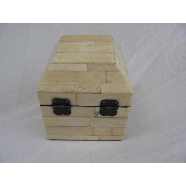 Chinese Bone Inlay Box - Image 7 of 9