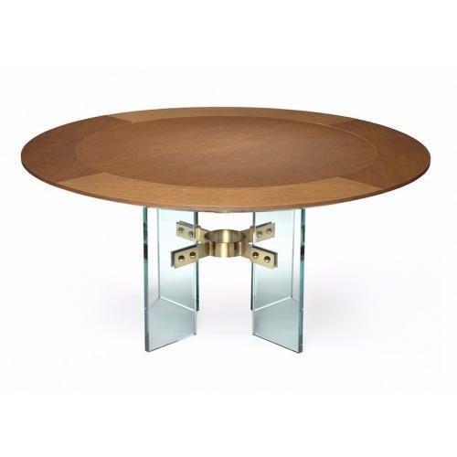 Contemporary Studio Van den Akker Jules Center / Dining Table For Sale - Image 3 of 3