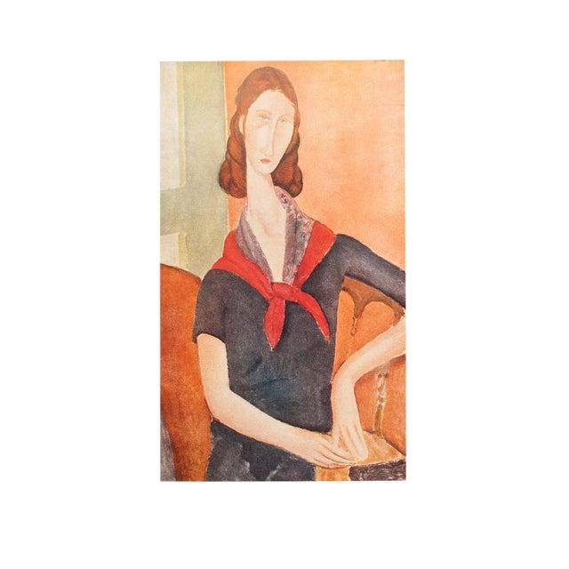 "1947 Amedeo Modigliani ""Madame Hebuterne"", First Editionl Parisian Lithograph For Sale"