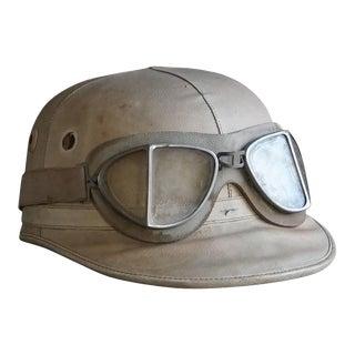 20th Century Vintage Racing Helmet For Sale