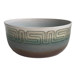 Cranbrook Academy 1950s Modernist Studio Pottery Bowl For Sale