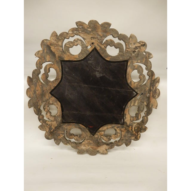 19th Century Italian Rococo Painted Mirror For Sale In New Orleans - Image 6 of 7