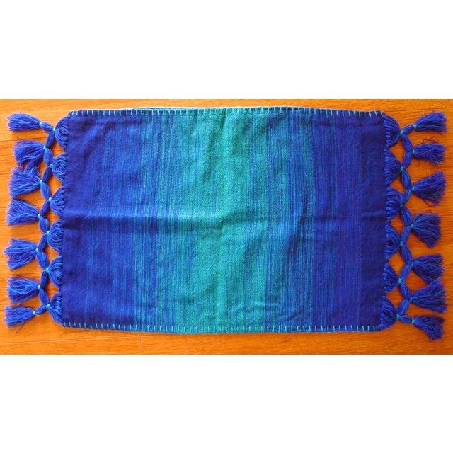 Moroccan Berber Tassel Pillowcases - A Pair - Image 2 of 8