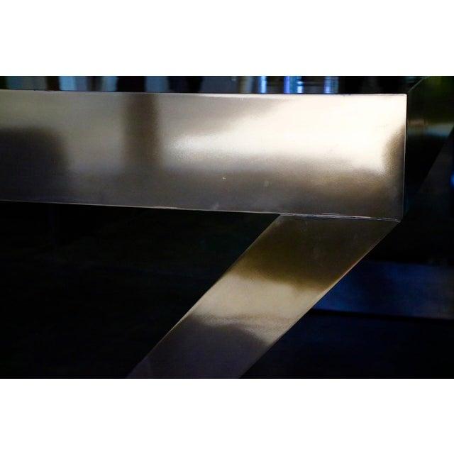 Zee Desk in Bronze by Bridges Over Time Originals For Sale - Image 12 of 13