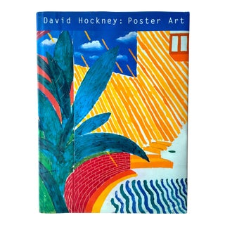 "1995 1st Edition ""David Hockney Poster Art"" Collector's Oversized Book"