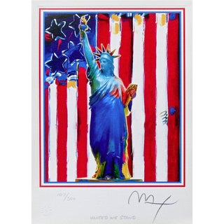 Peter Max United We Stand 2002 For Sale