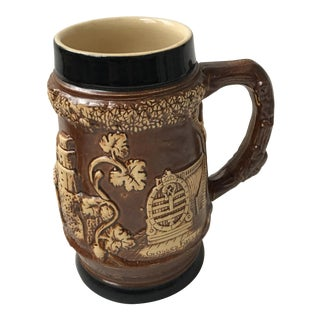 Ceramic Beer Stein Raised Decorations For Sale