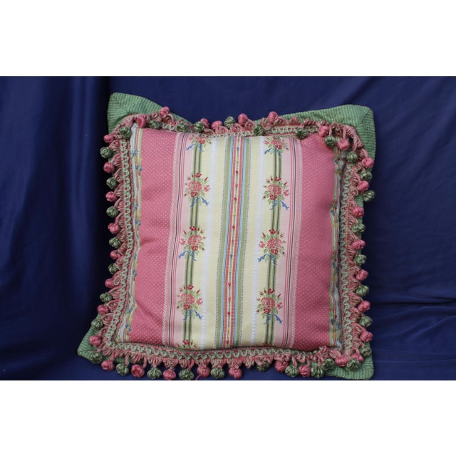 Mid 20 c. French chair pillow