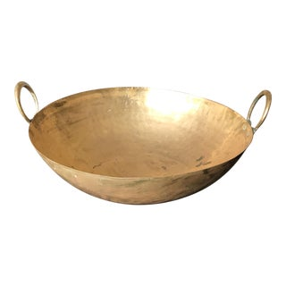 Round Bottom Brass Bowl