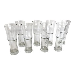 Bamboo Shaped Glasses- Set of 8