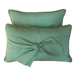 Decorative Outdoor Lumbar Pillows - A Pair