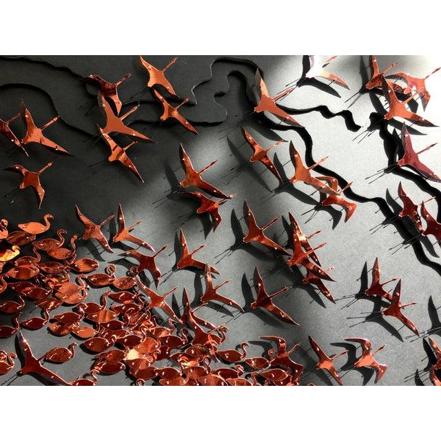 Flamboyance a three-dimensional framed artwork by Daniel Byrne - Image 4 of 5