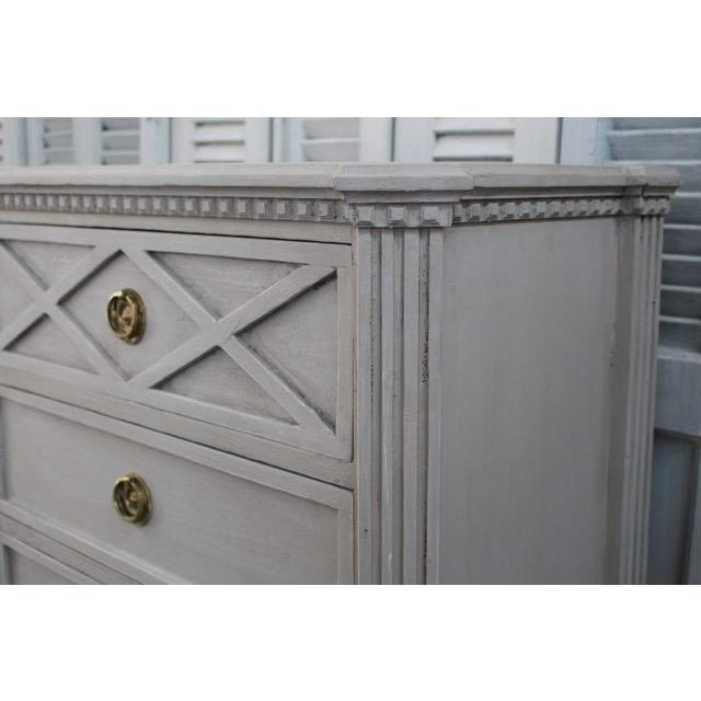 20th Century Swedish Gustavian Style Nightstands - A Pair For Sale In Atlanta - Image 6 of 11