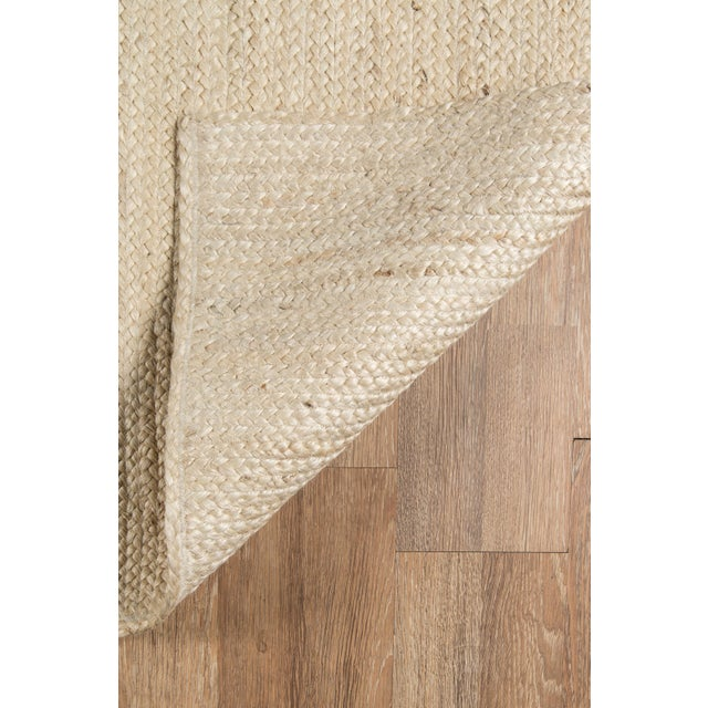 Erin Gates by Momeni Westshore Waltham Natural Jute Area Rug - 7′6″ × 9′6″ For Sale In Atlanta - Image 6 of 8