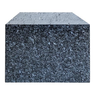 20th Century Blue Granite Coffee Table For Sale