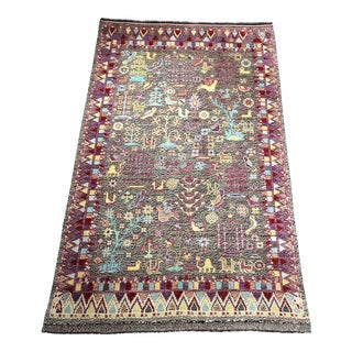 "Bellwether Rugs Vintage Style Kotan ""Rochelle"" Rug - 9'3"" X 5'7"" For Sale"