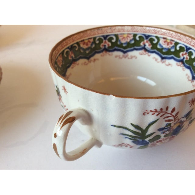 """Booths """"Old Dutch"""" Cup & Saucers - Set of 4 - Image 3 of 11"""