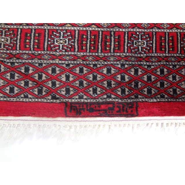 """Hand-Knotted Red Runner Rug - 2'6 x 6'4"""" - Image 4 of 11"""