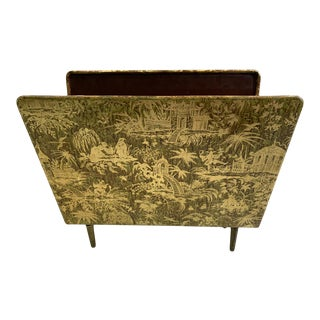 1950s Piero Fornasetti Piccolo Coramandel Magazine Rack For Sale