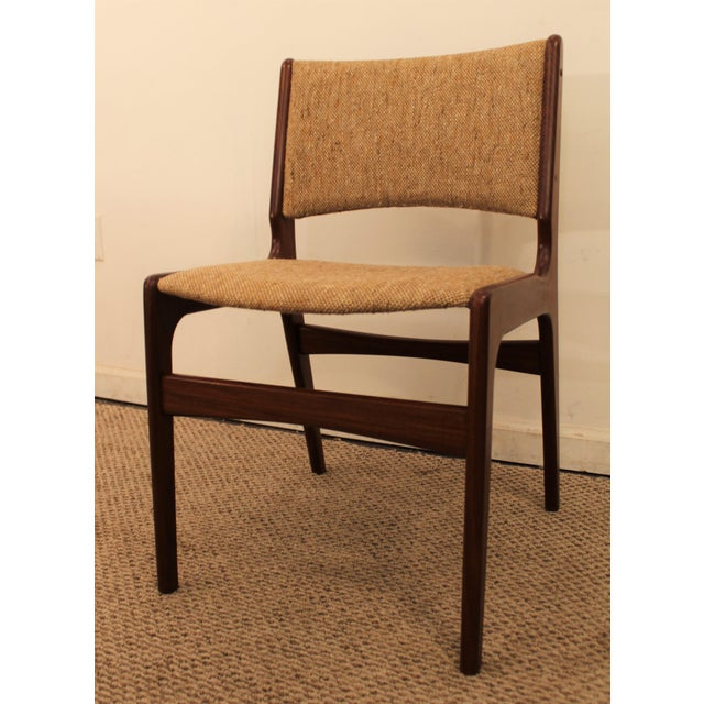 Hans Wegner Style Teak Dining Side Chair - Image 2 of 7