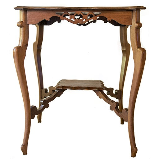 Vintage Mahogany Occasional Table - Image 1 of 5