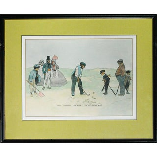 """""""Golf Through The Ages- The Victorian Era"""" For Sale"""